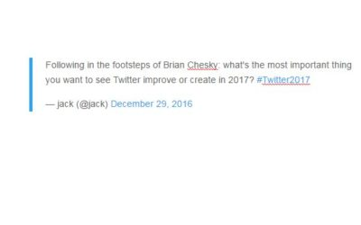 Twitter Improvements to Expect in 2017